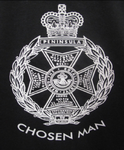 Chosen Man T-Shirt (Black)